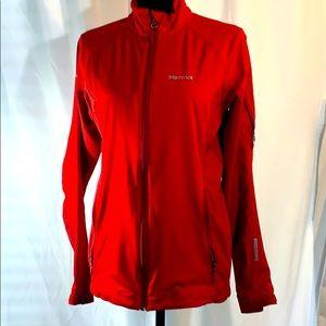 Women's Marmot Soft Shell Jacket Size Medium Red